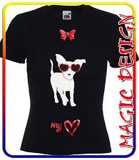 T-SHIRT chihuahua fashion chiwawa con il nome del tuo cane