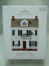 2010 Hallmark Keepsake Ornament A Colonial Christmas Nostalgic Houses Shops #27