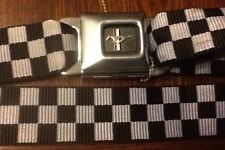 Seat Belt Buckle Ford Mustang Checkered Flag GT
