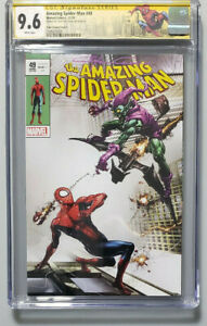 AMAZING SPIDER-MAN #49 CGC SIG SERIES 9.6 COVER C SIGNED BY CLAYTON CRAIN