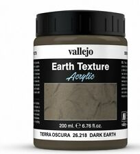 Vallejo Stone Textures 200ml Dark Earth # 26218