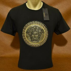 Brand New With Tags Men's VERSACE T-SHIRT Size M to 3XL