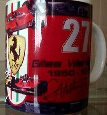 Gilles Villeneuve Ferrari Tribute Limited Edition MUG