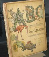 ABC Petits Contes Par Jules Lemaitre Undated Circa 1919