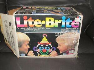 Vintage Lite Brite 1986 Milton Bradley Toy Disney Pictures