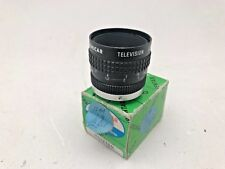 Pentax Cosmicar 12mm f1.4 cctv lens for use with Sony, Fuji etc with adapter new