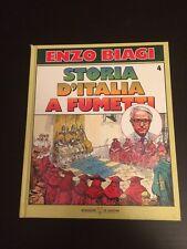 STORIA D'ITALIA A FUMETTI DI ENZO BIAGI VOLUME 4 EDIZIONE MONDADORI