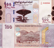 YEMEN A.R 100 Rials Banknote World Paper Money UNC Currency Pick pNEW 2019 Bill