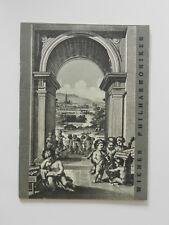 Wiener Philharmoniker 6. Abonnementkonzert Karl Böhm 1958