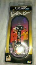 ☆ RARE Star Trek Barbie and Ken watch NEW SEALED 30th Anniversary Mattel F/SHIP