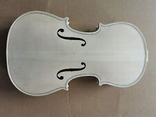 4/4 Violin Body Unfinished Maple Spruce Solid DIY violin luthier Lamber