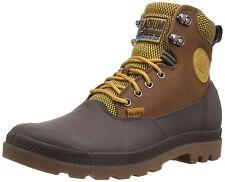 Men's Palladium Boots WaterProof Sport Cuff 2.0 Amber Gold / Chocolate Brown