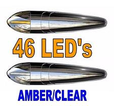 Torpedo Cab 46 LED Marker Light (AMBER / CLEAR) Awesome NewLook!!