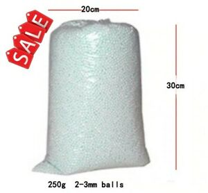 Bean bag booster refill Polystyrene beangbang beads Pillow Styrofoam balls+BOX
