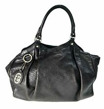 Gucci guccissima leather G Large Tote 211943 Used with charm