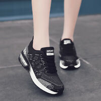 Womens Sneakers Air Cushion Flyknit US Size 6 7 8 9 10 11 Casual Athletic Shoes