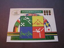 Turkmenistan Scott# 23 1992 Olympics Souvenir Sheet P1