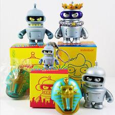 Bender Bundle Pack ( Vinyl Mini Figures + Keychain ) - Futurama x Kidrobot