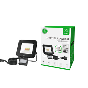 SmartHome LED Wandstrahler Flutlicht Bewegungsmelder 1600 Lm 200 Watt IP44 ALEXA