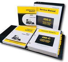 Service Parts Operators Manual Set For John Deere 450c Crawler Loader