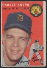 1954 TOPPS #25 HARVEY KUENN – ROOKIE CARD – VG-EX (4)