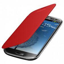 Etui Flip Cover Rouge Samsung Galaxy S3