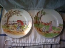 Vintage Limoges Decorative Plates Oscar Gutherz