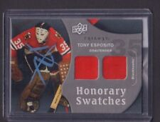 Tony Esposito 2009-2010 UD Honorary Swatches Game Used jh59
