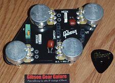 Gibson Les Paul Tribute Quick Connect Control Board CTS Pot Guitar Parts HP LPM