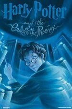 HARRY POTTER THE ORDER OF THE PHOENIX  BOOK COVER ART POSTER 24X36