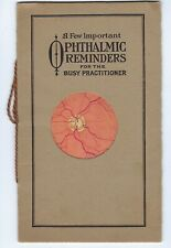 Ophthalmic Reminders for Busy Practitioners, Fellows' Compound Syrup, 1916
