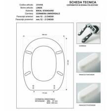 Sedile Linda Ideal Standard Colbam 281410 bianco copriwater