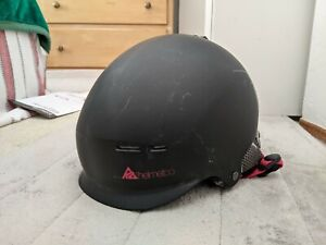Helmet Co. rant rugged series Youth Ski/Snowboarding Helmet - charcoal gray/red