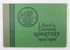 Meghrig Used Empty Coin book Liberty Head Quarters 1916-1930