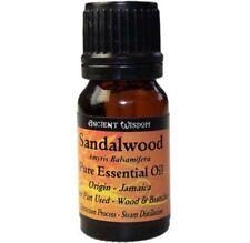 Aceite Esencial de SANDALO 100% Puro Natural 10 ml Sandalwood Oil Aromaterapia