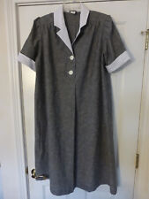 NWOT LADY IN WAITING MATERNITY DRESS GRAY COLOR BUST 44''  SS