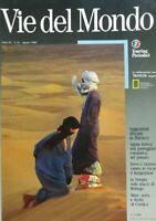 VIE DEL MONDO AGOSTO 1989 MAROCCO APPIA ANTICA BURGENLAND ETIOPIA CORSICA
