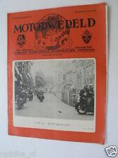 DMW 1946-21,25 MEI 1946 DELFT,'T HOF,GP MEUSE,TACHENEY,VANDOREN,G WALKER,MANTEL