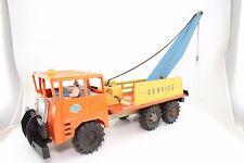 Lamiera/plastica TIN TOY-Gama Faun abschleppkran Service camion attacco movimento dell'orologio