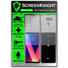 ScreenKnight LG V30 PLUS (LG V30+) - FULLBODY SCREEN PROTECTOR - Military Shield