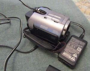 SONY HDD HANDYCAM MODEL DCR-SR52E
