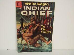 Dell-1957 #26-White Eagle Indian Chief-Comic-NM