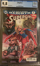 Supergirl #1 Rebirth CGC 9.8 Orlando Justice League