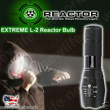REACTOR EXTREME SHADOW TC1200 BLACK HAWK Flashlight IN STOCK NOW FREE SHIPPING