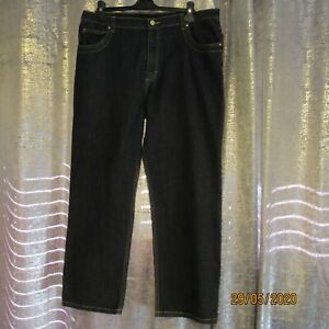 Women's Indigo Jeans Size 18 from Marks and Spencers