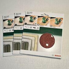 🔅 lot de 15 disques abrasives BOSCH ponçage 150 mm grain 60