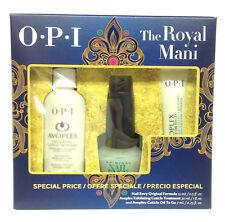 OPI The Royal Mani Kit - Exfoliate + Cuticle Oil To Go + Envy Original