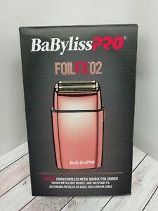 Babyliss PRO FOILFX02 foil shaver NEW NOT UK PLUG