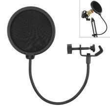 Studio Microphone Double Flexible Layer Wind Screen  Mic Pop Filter Shield