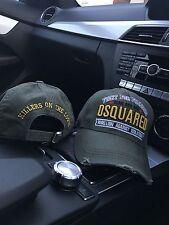 """DSQUARED 2/DSQUARED CAP - """"Lotta per la libertà"""" - Kaki Cappello"""